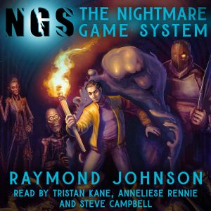 The Nightmare Game audiobook cover